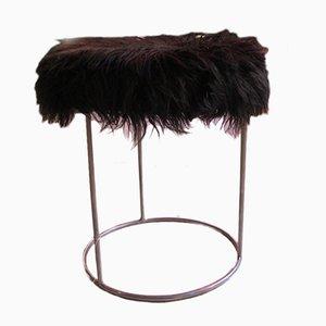 Puf Fur en negro, años 70