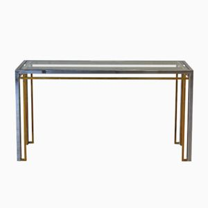 Table Console Vintage, Italie, 1970s