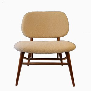 TV Fireside Chair by Alf Svensson for Ljungs Industrier, 1958