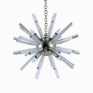 Mid-Century Sputnik 12 Light Chandelier by Paolo Venini