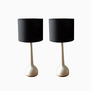 Vintage Swedish Table Lamps by Hans-Agne Jakobsson, Set of 2