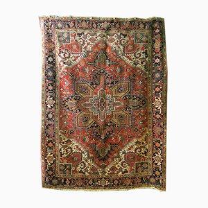 Antiker Persischer Heriz Teppich