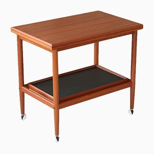 Teak Serving Trolley from Poul Hundevad, 1960s