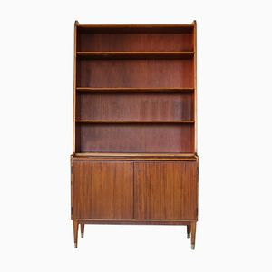 Swedish Walnut Secretaire from Bodafors, 1960s