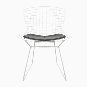 White Wire Side Chair by Harry Bertoia for Knoll International, 1970s
