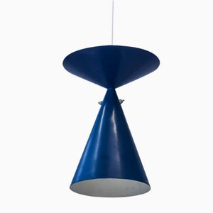 Lampe à Suspension par Bertil Brisborg pour Nordiska Kompaniet, Suède, 1950s