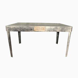 Tavolo Mid-Century in ferro, anni '50