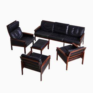 Dänisches Capella Sofa Set von Illum Wikkelsø für Niels Eilersen, 1950er