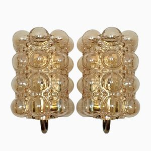 German Bubble Sconces by Helena Tynell for Limburg, 1960s, Set of 2