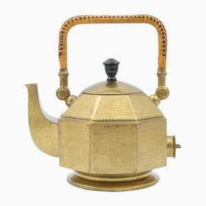 Brass Kettle by Peter Behrens for AEG, 1910s