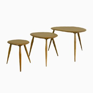 Pebble Nesting Tables by Lucian Ercolani, 1950s