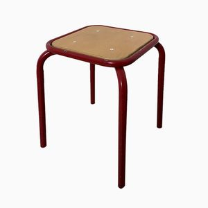 Mid-Century French Stool, 1960s