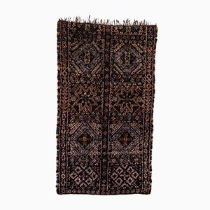 Marokkanischer Vintage Berber Teppich von Beni MGuild, 1970er
