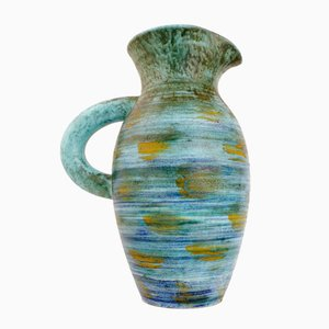 French Ceramic Vase by Robert Dupanier for Vallauris, 1950s
