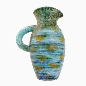 Vaso in ceramica di Robert Dupanier per Vallauris, Francia, anni '50