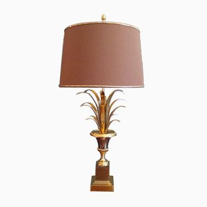 French Palm Leaf Table Lamp, 1960s