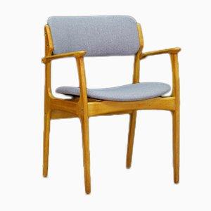 Vintage Armlehnstuhl aus Teakholz von Erik Buch für O.D. Møbler
