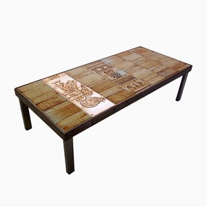 Vintage Coffee Table by Roger Capron