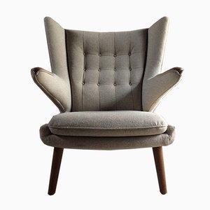 Papa Bear Lounge Chair by Hans J. Wegner for A.P. Stolen, 1950s