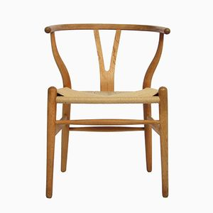 CH24 Wishbone Chair by Hans J. Wegner for Carl Hansen & Søn, 1950s