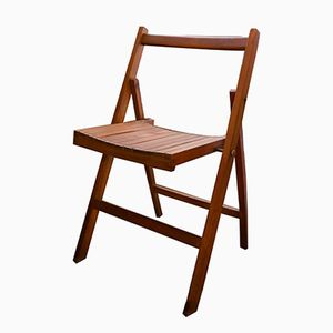 Vintage English Folding Chairs, Set of 12
