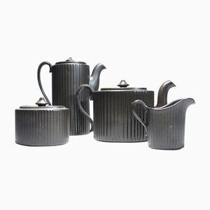 Mid-Century Mangania Tea & Coffee Set by Lillemor Mannerheim for Gefle