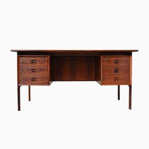 Freistehender Schreibtisch aus Palisander von Arne Vodder für Sibast, 1950er