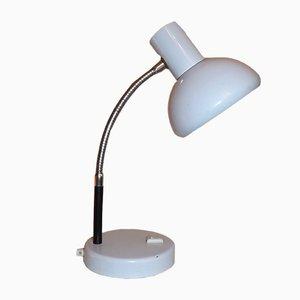 Schreibtischlampe aus Poliertem Metall, 1960er