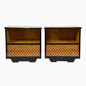 Mid-Century Modern Nightstands or Side Tables, Set of 2