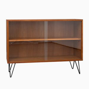 Mid-Century Low Teak Display Case, 1960s