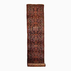 Antique Handmade Persian Hamadan Runner, 1900s
