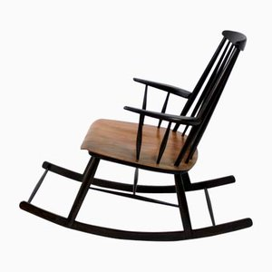 Beautiful Scandinavian Style Rocking Chair, 1960s