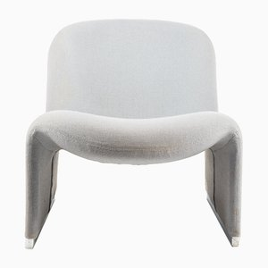 Vintage Grey Alky Chair by Giancarlo Piretti for Castelli / Anonima Castelli