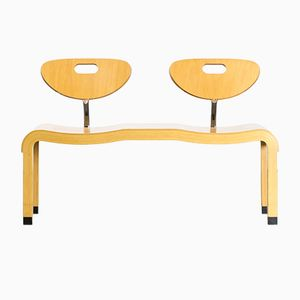 Moment Double Seat Bench by Ruud Jan Kokke for Kembo, 1992