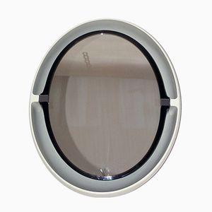 Specchio girevole con luce di Allibert, anni '70