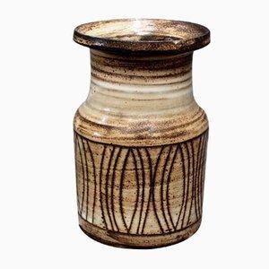 Vase aus Keramik von Jacques Pouchain für Atelier Dieulefit, 1960er