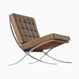 Barcelona Lounge Chair by Mies van der Rohe for Knoll Inc, 1960s