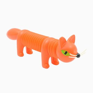 Plastic Toy Fox by Libuse Niklova for Fatra Napajedla, 1960s