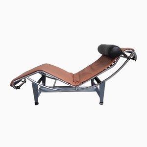Chaise-longue LC4 vintage de Le Corbusier, Jeanneret & Perriand para Cassina