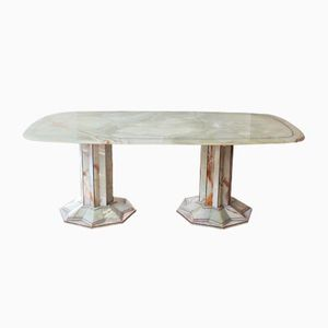 Art Deco Onyx Dining Table, 1930s