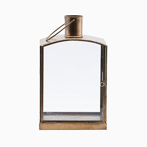 Antique-Style Brass Lantern from House Doctor
