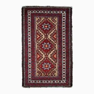 Handgefertigter Vintage Afghan Teppich, 1940er