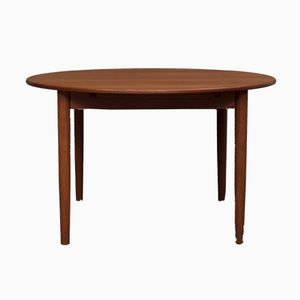 Danish Extendable Teak Table, 1960s