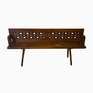 Reversible Rustic Bench, 1930s
