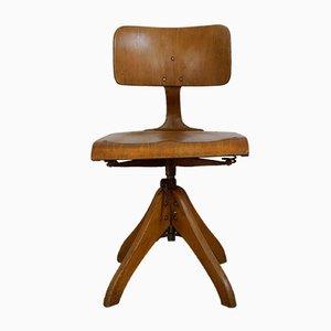 Chaise de Bureau Réglable en Hauteur, 1930s