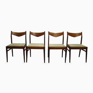 Chaises de Salon Scandinaves Vintage, 1960s, Set de 4