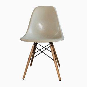 Mid-Century DSW Stuhl aus Fiberglas von Charles & Ray Eames für Hermann Miller