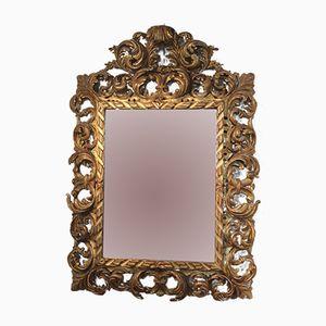 Specchio in legno dorato, XIX secolo, Francia