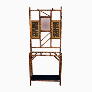 English Victorian Bamboo Hallstand
