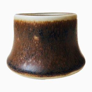 Vaso piccolo Mid-Century smaltato di Rörstrand, anni '60